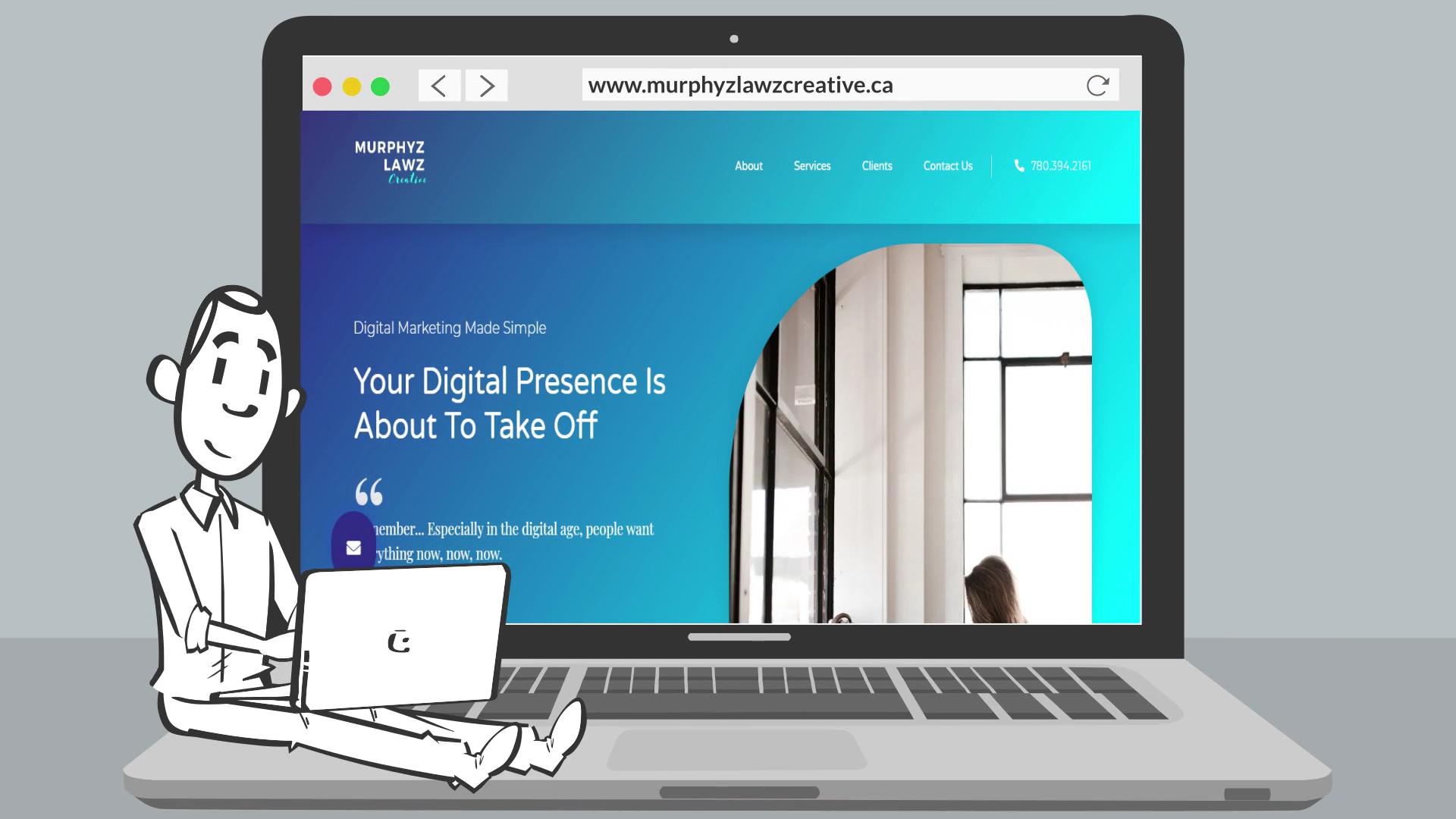 MURPHY LAWZ Explainer Video - Startups